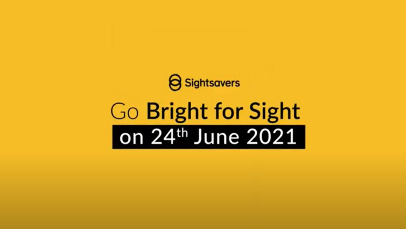 Bright for Sight | Fundraising | Sightsavers